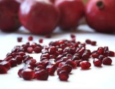 Pflege erstaunliche Winterhaut: Granatapfel