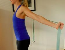 Yoga für Läufer: 3 bewegt sich die Brust zu öffnen