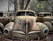 Wie wird man von den Junk-Auto befreien