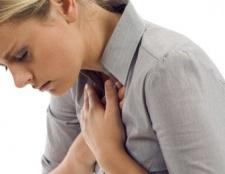Schmerzen in der Brust beim Schlucken, warum und was zu tun ist