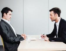 Persönliches Interview-Fragen
