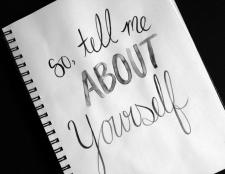 Erzähl mir von dir