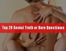 Top 20 sexuelle Wahrheit e Dare Fragen